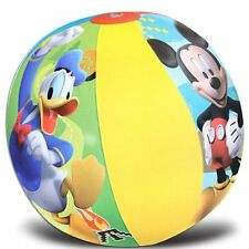 """Mickey Mouse Clubhouse Mickey Mouse/Donald Duck 20"""" Beach Ball-New in Pkge!"""