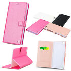 Silk pattern Magnetic Flip PU Leather Case Card Holder Stand Cover For XIAOMI