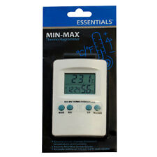 Digital Min-Max Hygrometer Thermometer Hydroponic Temperature and Humidity