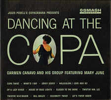 """CARMEN CANAVO / MARY JUNE """"DANCING AT THE COPA"""" ROCK TWIST 60'S LP SMASH 67010"""