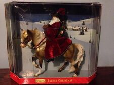 "Breyer Traditional ""Father Christmas"" Marabella Model NIB"
