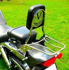 SISSY BAR PASSENGER BACKREST + LUGGAGE RACK SUZUKI VZ 800 MARAUDER DESPERADO