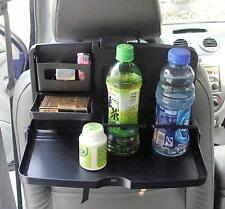 Auto Dining Table Car Back Seat Folding Tray Multi Cup Holder Drink Food Desk