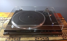 Technics SL QD33 Turntable BEAUTIFUL, New Cover  w/ Technics P153 Cartridge
