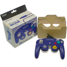 Nintendo Game Cube Controller Clear Violet Purple Pad Japan Import Boxed Working