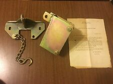 Vintage Arctic Cat Snowmobile Trailer Tipper Lock Assembly Replacement