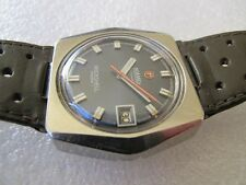 Vintage rare Roamer Rockshell Mark I swiss automatic mens watch MST 471 1120.609