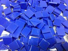 BLUE Medium Opal Hand Cut Mosaic Glass Tile ... 100+ pieces