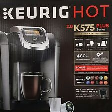 Keurig Hot 2.0 K575 Plus K-Cup Machine Coffee Maker Brewer | BRAND NEW 2016