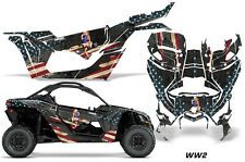 AMR Racing Can Am Maverick X3 Full Graphic Kit Wrap Sticker Parts 2016 + WW2