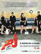 Publicité Advertising 2012  NRJ  12  HOLLYWOOD GIRLS en californie