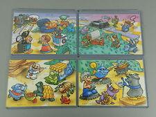 Puzzle: jouets (série 2.) 2001-super puzzle + toutes les 4 BPZ