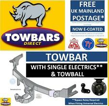 Towbar for Peugeot 206 Hatchback Hatch, Van & CC Coupe Convertible Tow Bar