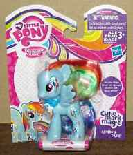 MY LITTLE PONY WAVE 2 CUTIE MARK MAGIC FRIENDS RAINBOW DASH  NIP #ssep15