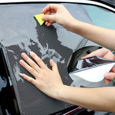 2016 2PCS Car Auto Side Window Sun Visor Shade Cover Shield Screen Cling Sticker