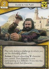 3 x Ours is the Fury AGoT LCG 2.0 Game of Thrones Core set 63