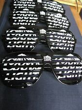 4 PC COORS LIGHT SHUTTER GLASSES LOT