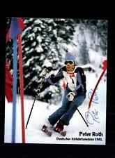 Peter Roth Autogrammkarte Original Signiert Skialpine+A 124998
