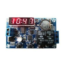DC 12V Digital LED Electronic Clock Module Real-time Relay Timing Control Board