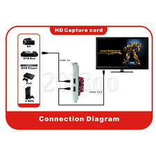PCI-E HDMI Input+Output Video Capture Card Grabber 1080P 23HZ F Win8 Blu-Ray HW
