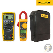 FLUKE 179 TRUE RMS MULTIMETRO DIGITALE 325 PINZA AMPEROMETRICA C115 CASE