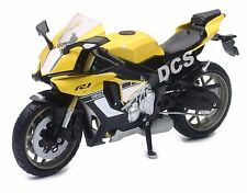 NEW RAY  2015 YAMAHA YZF R1 BIKE MOTORCYCLE 1/12 YELLOW 57803-B