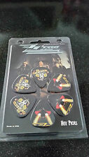 ZZ Top Guitar Picks - Pack of 6