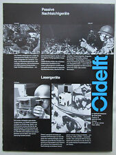 10/1983 PUB OLDELFT DELFT NACHSICHT NIGHT VISION SNIPER LASER ORIGINAL GERMAN AD