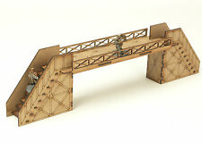 Warhammer 40K Necromunda Scenery Walkway with Etched Stairs Industrial Terrain A