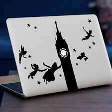 "Peter PAN Apple Macbook Decal Sticker encaja 11"" 13"" 15"" y 17"" Modelos"