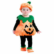 BABY TODDLER PUMPKIN VEST COSTUME 1-2 Years HAT SHOES AND VEST ~ NWT