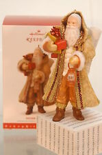 FATHER CHRISTMAS~2016 HALLMARK ORNAMENT~#13 IN FATHER SERIES~FREE SHIP IN US