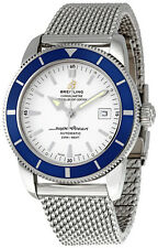 Breitling SuperOcean Heritage 42 White Dial Steel Mens Watch A1732116-G717SS