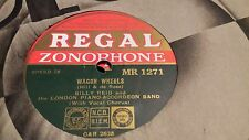 BILLY REID WAGON WHEELS & BESIDE MY CARAVAN REGAL ZONOPHONE MR1271