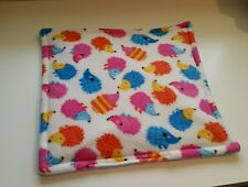 GUINEA PIG FLEECE LAP PAD WEE PEE Bed Mat  HEDGEHOG RAT SMALL PET CAGE ACCESSORY
