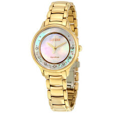 Citizen Circle of Time Eco-Drive Rose Gold-Tone Stainless Steel Ladies Watch