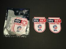 Sky Bet EFL League Two 16/17 Player Size Shirt Sleeve Patches - Sporting iD