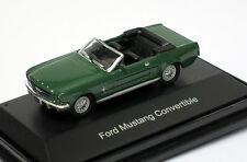 Schuco 1/87 HO 1964 Ford Mustang Convertible (Green) Diecast 452611800