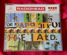 RADIOHEAD JUST Holland cd maxi single 4 tracks + promo sticker ITALIA Thom Yorke
