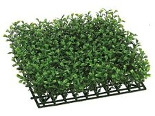 12 Artificial Boxwood Mat In Outdoor Grass Turf Hedge Wall Patio Plant Decor 419
