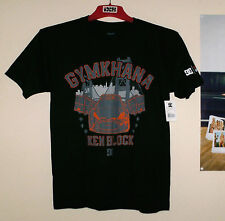 DC Shoes Monster T-Shirt Gymkhana Ken Block Herren Shirt Schwarz Black Gr.M Ford