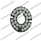 2X 90 Deg 30 Leds Infrared IR Board for Security CCTV Camera 850nm fixed 3.6mm