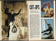 1967 TV ARTICLE~ROBERT LOGGIA~THE CAT & THE NINE LIVES OF ELFEGO BACCA~SWORD