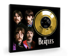 Beatles Penny Lane Framed Gold Disc Record Vinyl (C1)