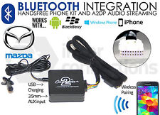 Mazda Bluetooth streaming handsfree calls CTAMZBT001 AUX USB MP3 iPhone Samsung