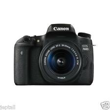"Canon EOS 760D 18-55mm STM 24.2mp 3"" DSLR Digital Camera Brand New Cod Jeptall"