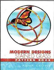 Stained Glass Pattern Book - MODERN GLASS PATTERN BOOK (FREE SHIPPING)