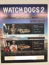 WATCH DOGS 2 SAN FRANCISCO Edizione Per Collezionisti PS4 PUNK STREET TEMA