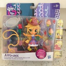Applejack MY LITTLE PONY EQUESTRIA GIRL SCUOLA DANZA poseable Figure Set Borsa