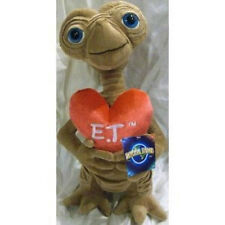 "Et Extra-terrestrial 15"" Plush Soft Stuffed Doll Big Heart Valentine Love - New"